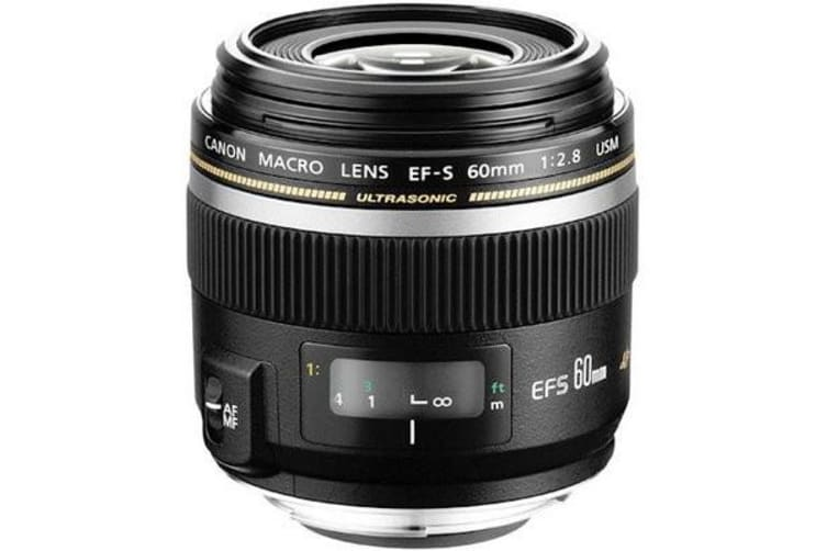 New Canon EF-S 60mm f/2.8 Macro USM 60 f2.8 Lens (FREE DELIVERY + 1 YEAR AU WARRANTY)