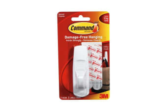 Command Utility Hook (White) (One Size)