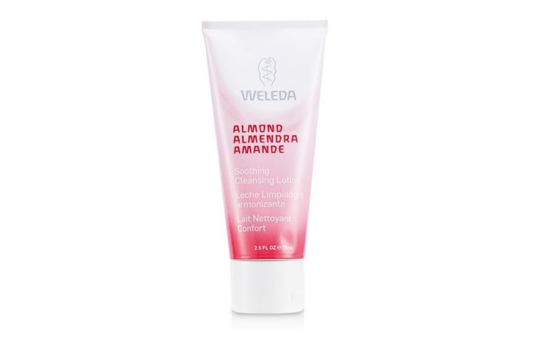 Weleda Soothing Cleansing Lotion Almond (Sensitive) Fragrance-Free 75ml