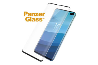 PanzerGlass Screen Protector for Samsung Galaxy S10+ Plus - Black