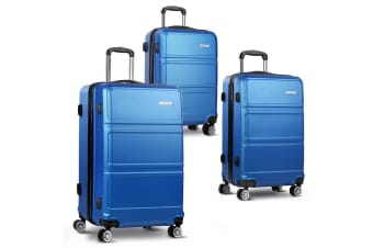 3pc Luggage Set 20 24 and 28 (Navy)