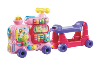 VTech Ultimate Alphabet Push & Ride Train (Pink)