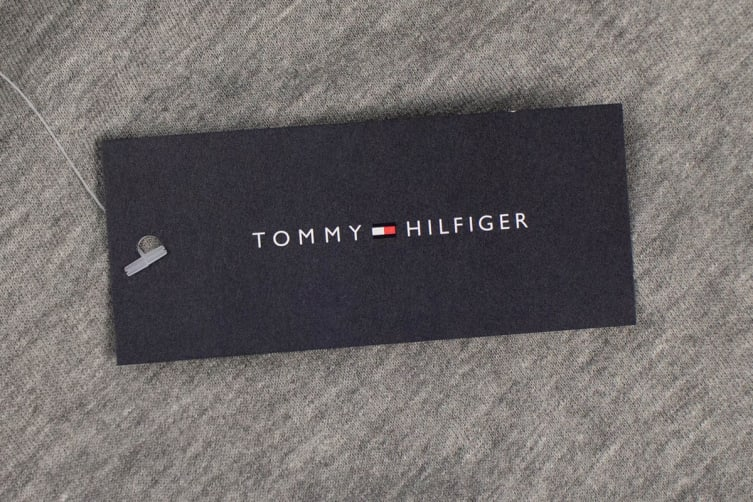 Tommy Hilfiger Men's Modern Shorts (Grey Heather, Size XL)