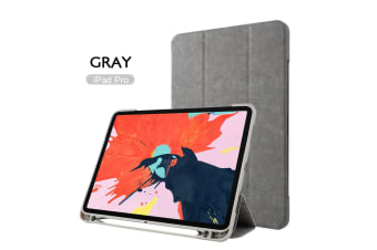 Leather Smart Case Cove Pencil charging for iPad 11 inch 2018