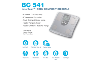 Tanita BC 541 Body Composition Monitor