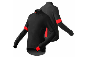Jackbroad Premium Quality Bike Long Sleeves Jersey Red 2XL