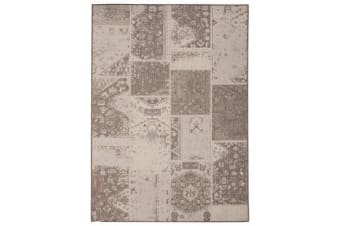 Nature Indoor Outdoor Modern White Rug 220X150cm