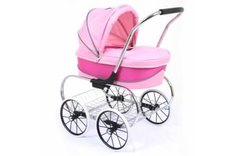 Valco Baby Princess Doll Stroller - Hot Pink