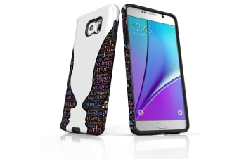 For Samsung Galaxy Note 5 Case Tough Slim Protective Cover Love