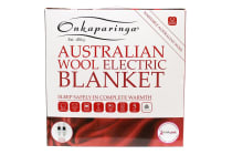 Onkaparinga Australian Wool Electric Blanket