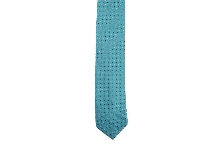 Premier Mens Mini Squares Fashion Tie (Pack of 2) (Turquoise) (One Size)