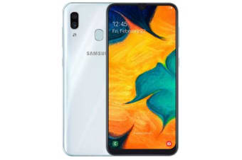 New Samsung Galaxy A30 Dual SIM 64GB 4G LTE Smartphone White (FREE DELIVERY + 1 YEAR AU WARRANTY)