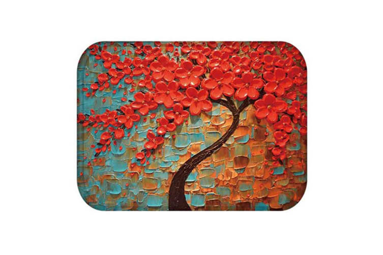 Carpet Abstract Paintings Non-slip Microfiber Area Rug  Carpet 14