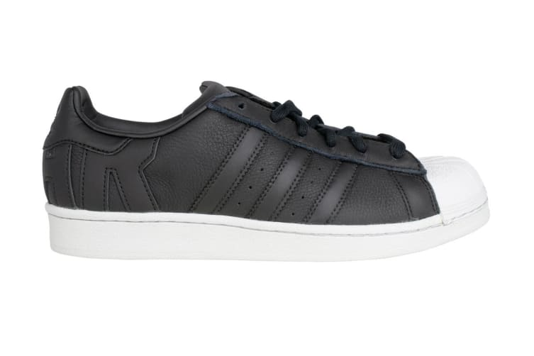 Adidas Originals Men's Superstar Shoe (Core Black/Crystal White, Size 5)