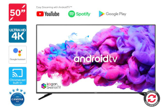 "Refurbished Kogan 50"" XU9010 4K LED SmarterTV™ (Android TV™, Smart TV)"