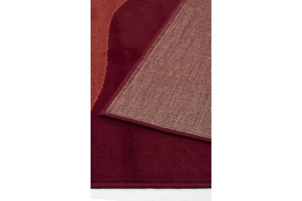 Uber Cool Red Rust Rug 230x160cm