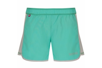 Regatta Great Outdoors Childrens/Girls Limber Quick Drying Shorts (Jade/Light Steel) (11-12 Years)