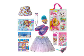 Nickelodeon Kids Children Paw Patrol Skye Show Bag Hat/Stickers/Skirt/Necklace