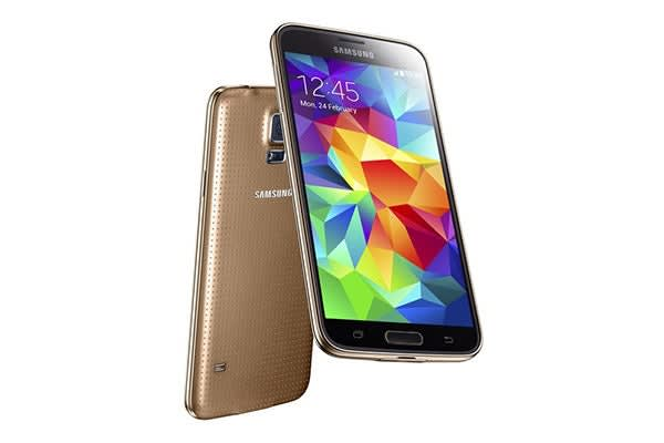 Samsung Galaxy S5 4G LTE SM-G900 (16GB, Gold)