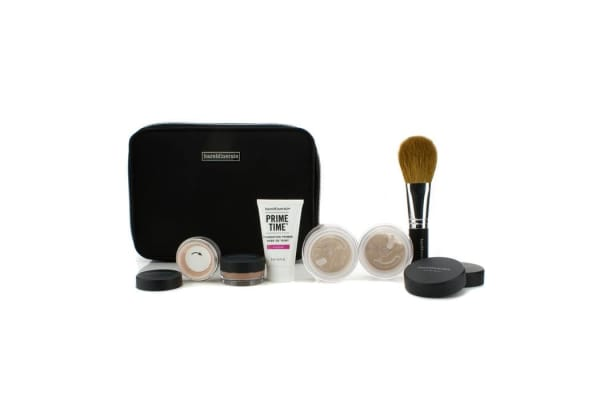 Bare Escentuals BareMinerals Get Started Complexion Kit For Flawless Skin - # Light (6pcs+1clutch)