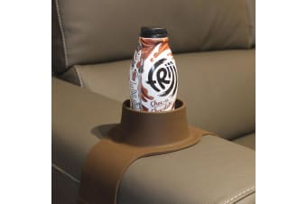 The Original Couch Coaster Drink Holder - Mocha Brown