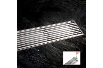 Cefito 800mm Heelguard Stainless Steel Shower Grate Floor Waste Linear Bathroom