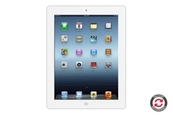 Apple iPad 3 Refurbished (16GB, Wi-Fi, White) - AB Grade