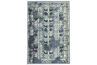 Urdu Tribal Rug Blue 230X160cm