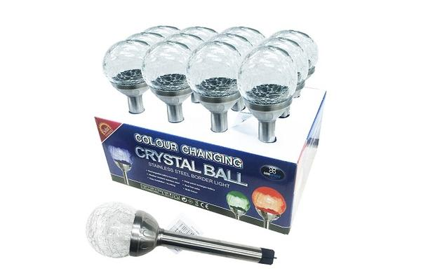 Crystal Ball Stainless Steelborder Light