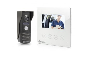 "Swann Doorphone Video Intercom With Colour 4.3"" LCD Monitor"