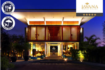 BALI: 3, 5 or 7 Nights Luxury Private Villa in Seminyak with Pool For Two