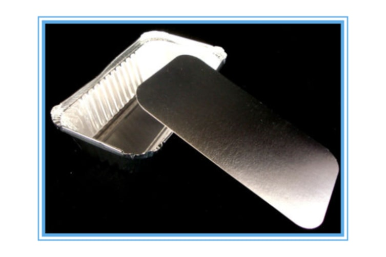 144 x Aluminum Foil Trays BBQ Disposable Roasting takeaway Oven Baking Party w lids F