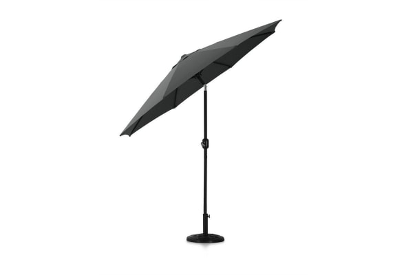 Komodo Outdoor Market Umbrella (Charcoal)