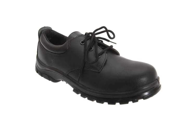 Grafters Mens Fully Composite Non-Metal Safety Shoes (Black) (41 EUR)
