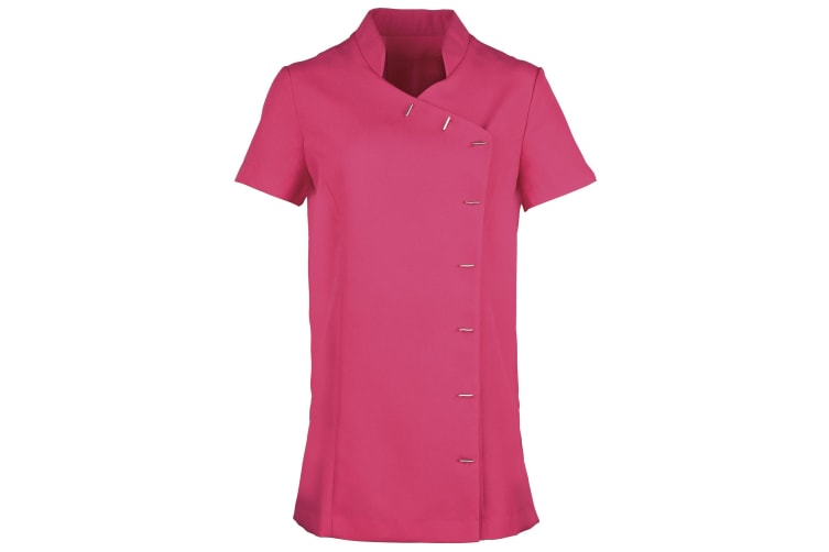 Premier Womens/Ladies *Orchid* Tunic / Health Beauty & Spa / Workwear (Pack of 2) (Hot Pink) (10)