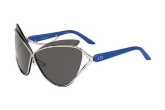 Christian Dior Audacieuse - Palladium Blue (Grey lens) Womens Sunglasses