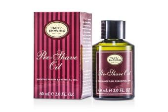 The Art Of Shaving Pre Shave Oil - Sandalwood Essential Oil (For All Skin Types) 60ml