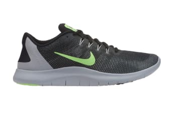 Nike Flex RN 2018 (Black/Lime/Grey, Size 8 US)