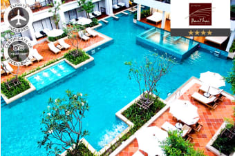 PHUKET: 7 Nights at Banthai Beach Resort & Spa Including Flights for Two