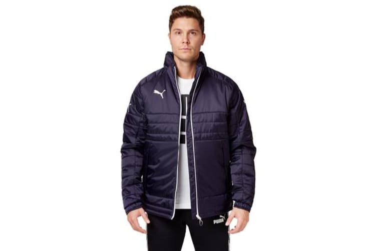 Puma Stadium Jacket (Navy/White, Size XL)