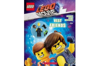 The LEGO Movie 2 - Vest Friends Activity Book with Minifigure