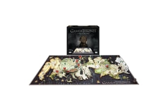 4D Game Of Thrones - Westeros 1500pc Puzzle