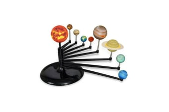 Build & Paint Your Own DIY 3D Solar System Model Kit