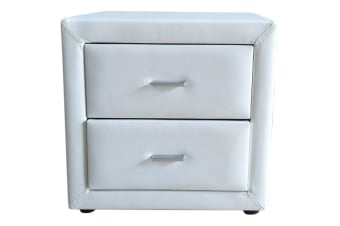 Bondi Bedside Table (White)