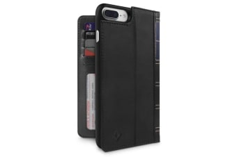 Twelve South BookBook Case/Wallet/Stand Leather Cover for iPhone 6+ 7+ 8 Plus BK