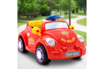 Kids Ride On Car Electric The Wiggles Licensed Big Red Car Children Toys