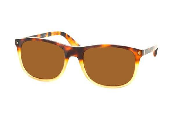 Prada PR01RS 57mm - Havana Shaded Yellow (Brown lens) Mens Sunglasses
