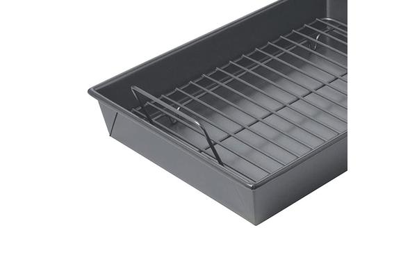 Chicago Metallic Professional Non-Stick Roast Pan with Rack 34x24x5.8cm
