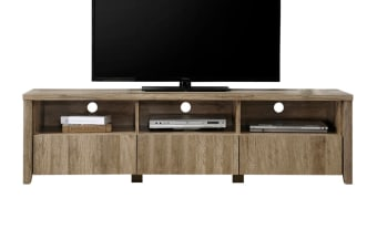 Alice 3 Drawer TV Cabinet (Oak)