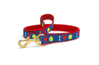 Up Country Tennis Ball Lead (Multicoloured)